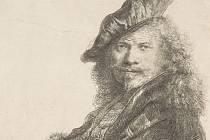 Rembrandtův autoportrét z roku 1639 naznačuje, že jeho levé oko hledí doleva, zatímco pravé se dívá přímo