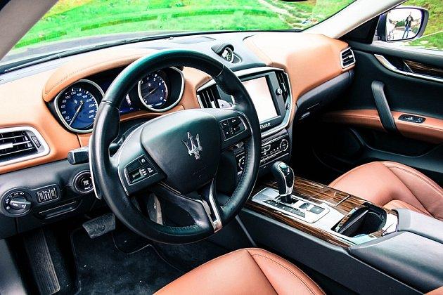 Maserati Ghibli SQ4.