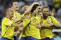 Rozhodující trefu utkání měl na svědomí švédský útočník Zlatan Ibrahimovič.