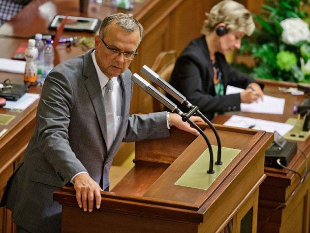 Z jednání Poslanecké sněmovny, 7. 8. 2013