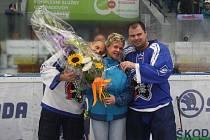 Rozlučka dvou ptáků: Martin Straka a Jaroslav Špaček se loučili s hokejem
