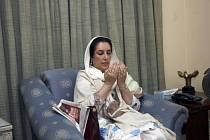 Někdejší pákistánská premiérka Benazír Bhuttová