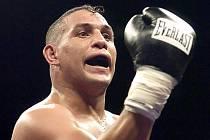 """Bývalý mistr světa boxer Héctor """"Macho"""" Camacho."""