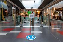 Uzavřené nákupní centrum - ilustrační foto