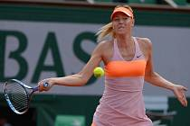 Maria Šarapovová v semifinále Roland Garros.
