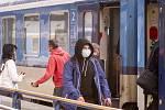 Cestování vlakem - Ilustrační foto