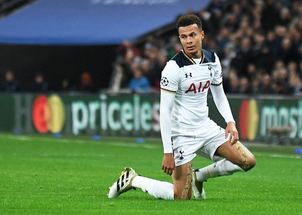 Fotbalista Tottenhamu Dele Alli