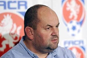 Bývalý předseda Fotbalové asociace České republiky Miroslav Pelta.