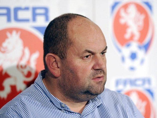 Bývalý předseda Fotbalové asociace ČR Miroslav Pelta
