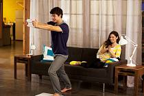 Hraní na nové konzoli Wii U.