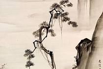 Z výstavy Japonské vize krajin na zámku Zbraslav