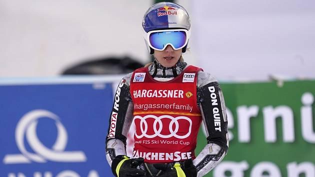 Česká lyžařka Ester Ledecká