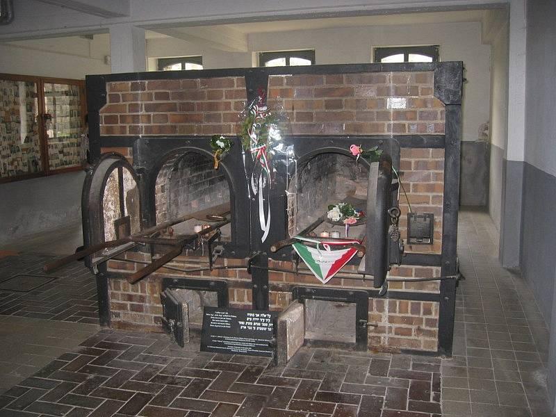 Krematorium v Mauthausenu.