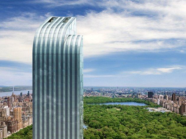 Mrakodrap nazvaný One57 bude vysoký 306 metrů, a zařadí se tak mezi nejvyšší budovy ve městě.