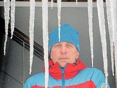 náčelník Horské služby Jizerské hory René Mašín