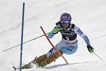 Šárka Strachová skončila ve slalomu SP ve ve Squaw Valley druhá.