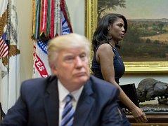 Prezident Donald Trump a Omarosa Manigault Newmanová