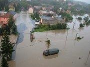 Povodně v Jeseníku nad Odrou
