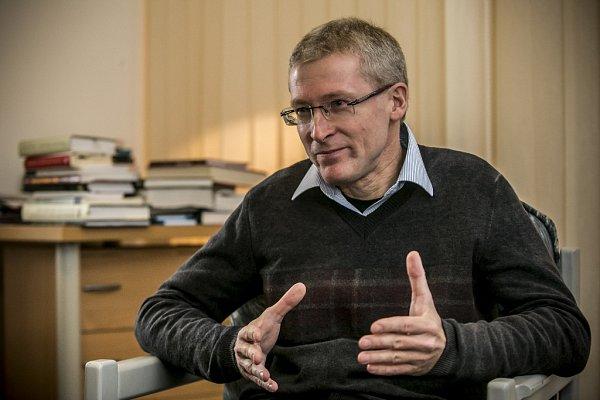 Přednosta Ústavu etiky 3.lékařské fakulty UK vPraze  Marek Orko Vácha.