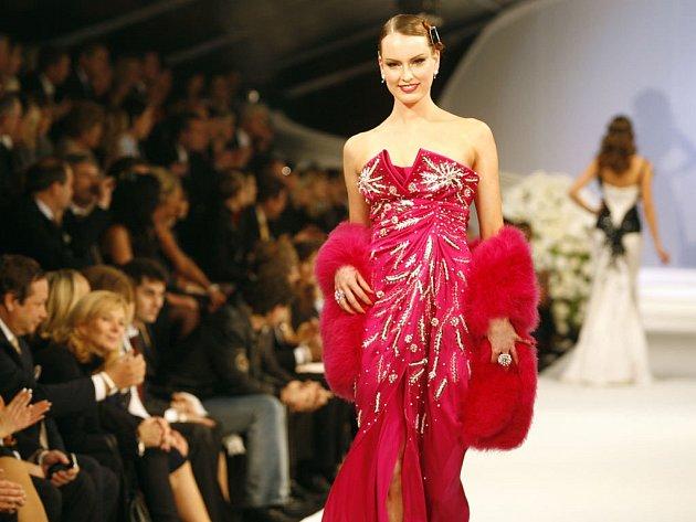 Dior předvedl Praze zimní kolekci