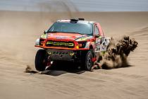 Martin Prokop na Rallye Dakar.