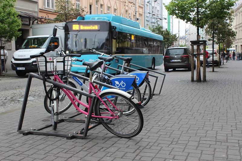 Sdílená kola, Nextbike a Rekola v Ostravě.