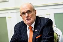 Rudy Giuliani, právník amerického prezidenta Donalda Trumpa a bývalý starosta New Yorku