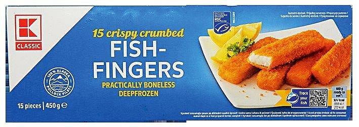 Rybí prsty Kaufland K-classic fish fingers