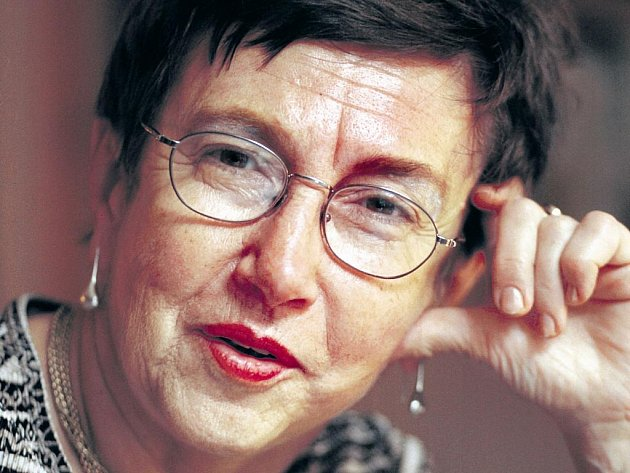 Socioložka Jiřina Šiklová