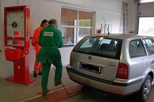 Stanice technické kontroly se zaměřují na technické kontroly motorových vozidel.