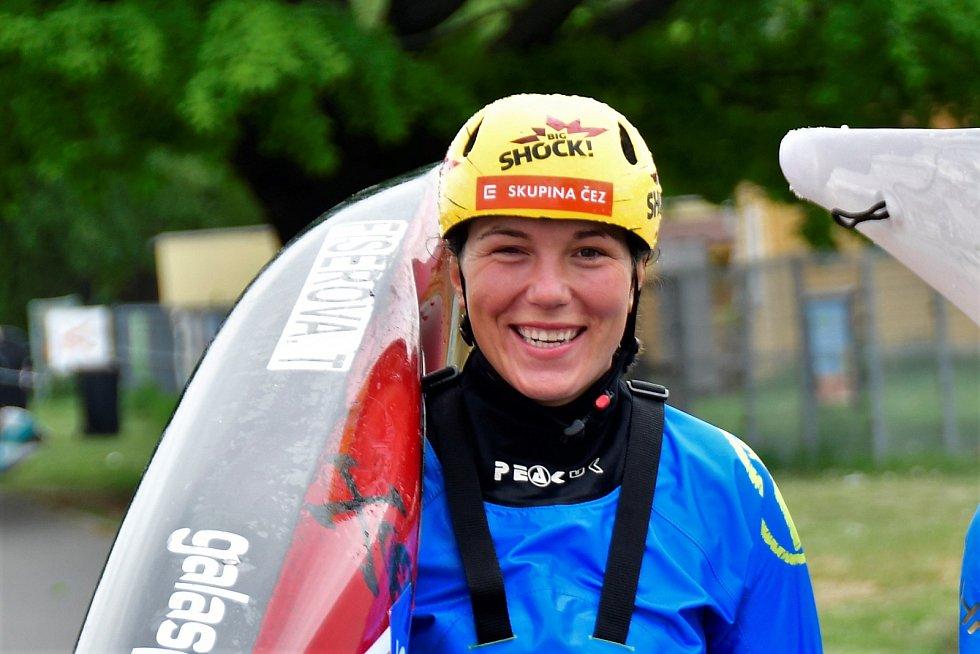 Vodní slalomářka Tereza Fišerová.