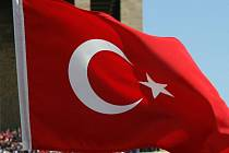Ilustrační foto - turecká vlajka.