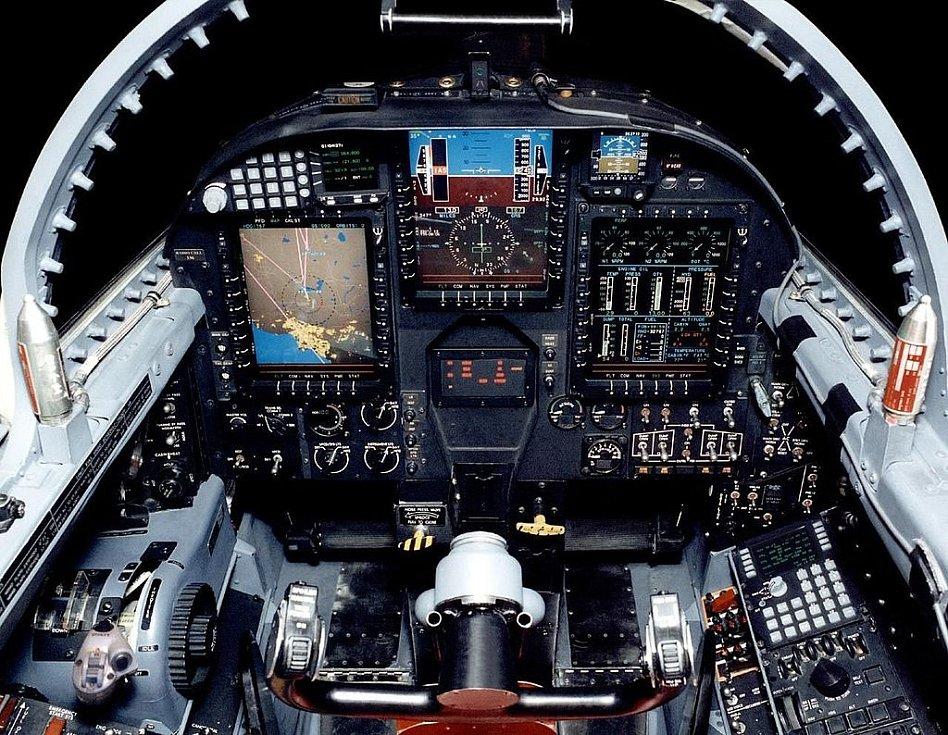 Kokpit špionážního letadla U-2