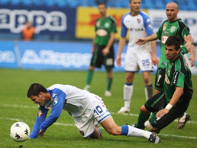 Ostrava porazila Příbram 2:0.