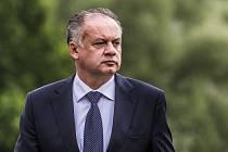 Slovenský exprezident Andrej Kiska