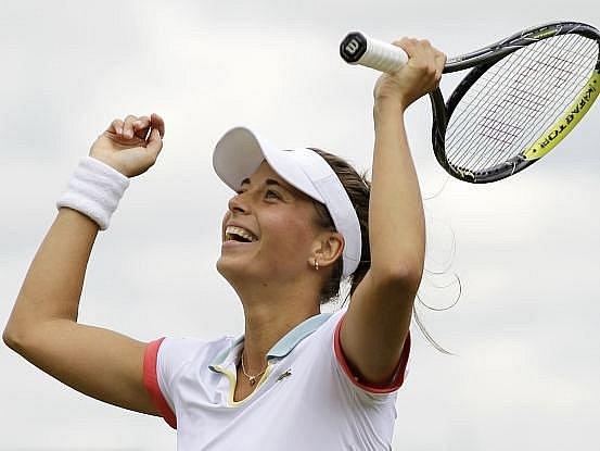 Petra Cetkovská na Wimbledonu překvapivě zdolala Srbku Ivanovičovou.