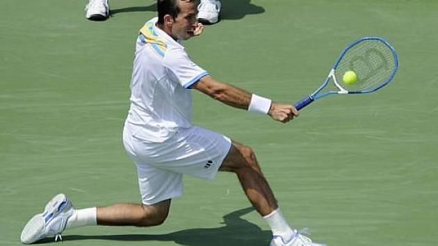 Radek Štěpánek na turnaji ve Washingtonu.