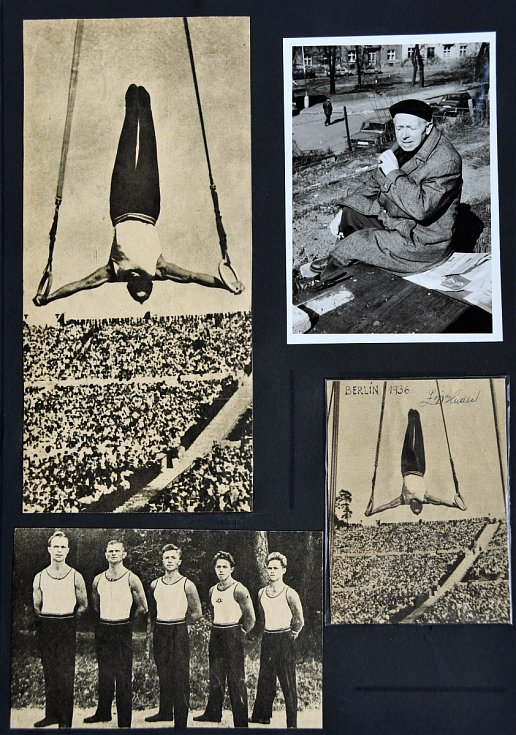 Autogram gymnasty Aloise Hudce.