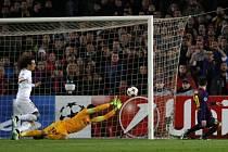 Barcelona - PSG: Lionel Messi a jeho trefa