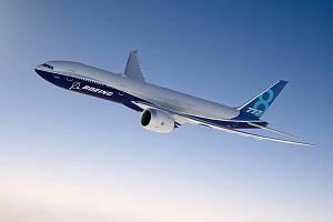 Boeing 777-8. Ilustrační snímek.