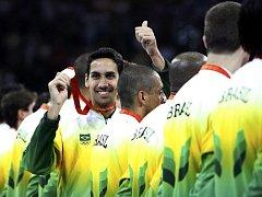 Brazílie získala na olympiádě tři zlaté, čtyři stříbrné a osm bronzových medailí.