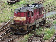 Lokomotiva řady 742 přezdívaná kocour