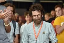 Zájemci se setkali 4. července s oscarovým scenáristou Charliem Kaufmanem na akci KVIFF Talks na mezinárodním filmovém festivalu v Karlových Varech.
