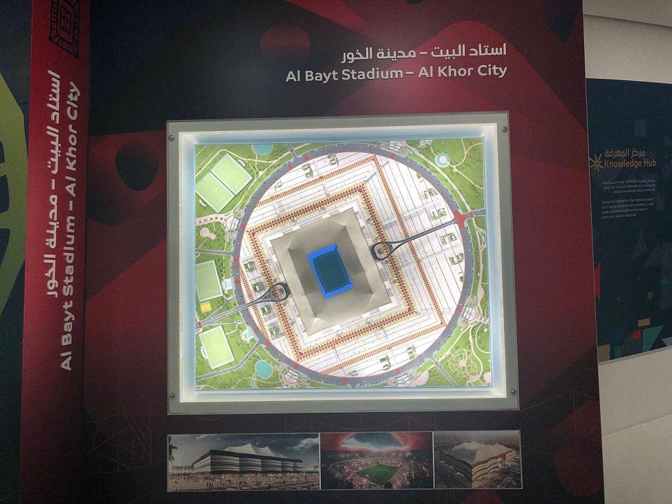 Al-Bayt Stadium.