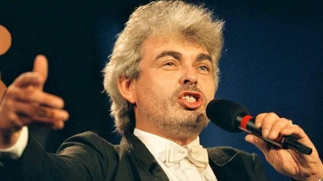 Operní pěvec Milan Bürger.