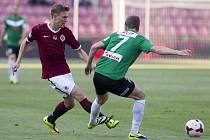 První fotbalová liga nabídne v sobotu šlágr Jablonec - Sparta.