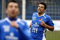 Hvězdný kanonýr Ostravy Milan Baroš zazářil hattrickem proti Hradci.
