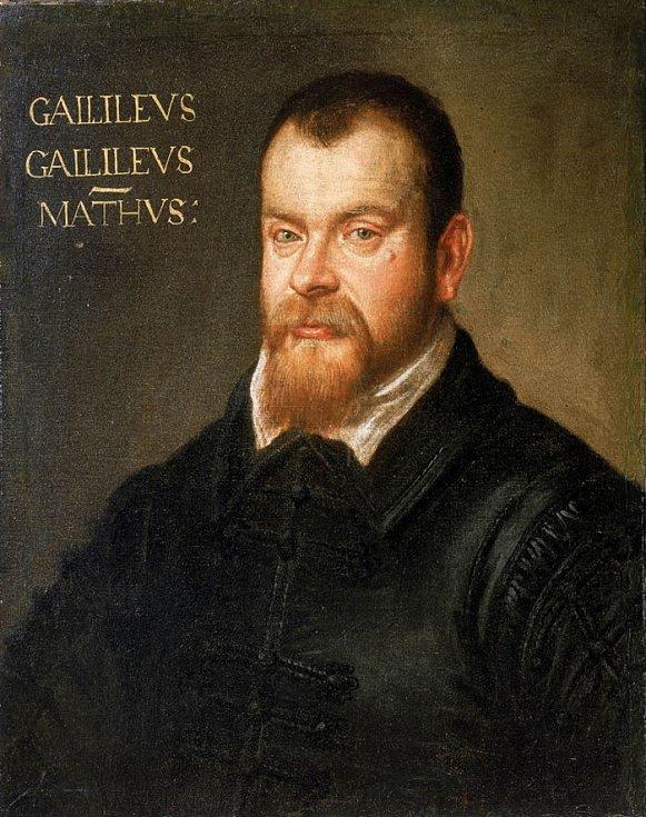Brunův následovník Galileo Galilei na obraze Domenika Tintoretta