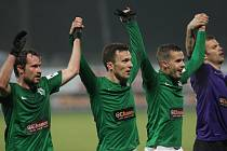Jablonce porazili v 16. ligovém kole Hradec Králové 3:2 a minimálně do neděle poskočili na první místo.