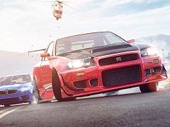 Počítačová hra Need for Speed Payback.